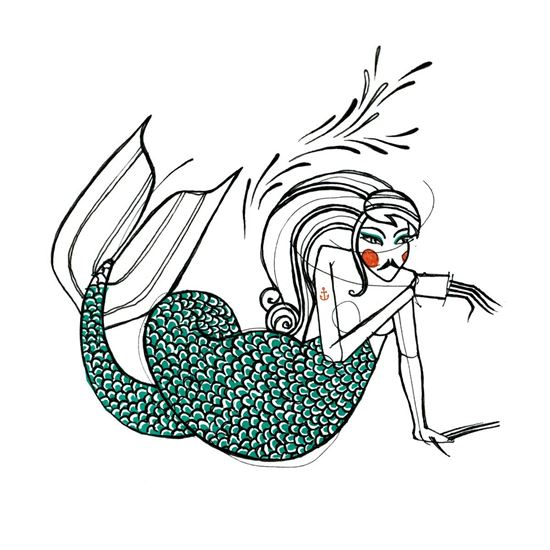 Picture of The Living Mermaid